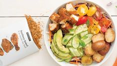 Southern Baked Picnic Chicken Bowl Epicure Recipes, Healthy Recipes, Dinner Menu, Dinner Recipes, Easy To Cook Meals, Clean Eating Chicken, Valeur Nutritive, Coleslaw Mix, Specialty Foods