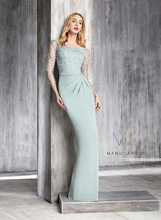 wedding dresses, party dresses and godmother Elegant Dresses, Nice Dresses, Formal Dresses, Wedding Dresses, Party Dresses, Manu Garcia, Dressy Outfits, Dress Skirt, Evening Dresses