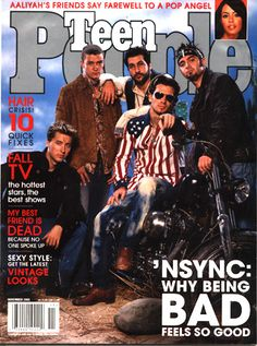 Nsync rides again - teen people  i would read that magazine every day