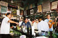 Hemingway frequently visited La Bodeguita del Medio for their outstanding mojitos. Today it has become one of the most visited tourist attractions in Havana. It serves local food, sells cigars, has live music and is full of the vibrant atmosphere