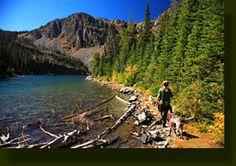 Lake Katherine and Bighorn Lake