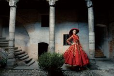 The Most Fantastical Haute Couture Shoots in _Vogue_Annie Leibovitz Photography