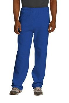 Jerzees Men/'s Adult Heavy NuBlend Pocket Sweatpants S-3XL 4850MP