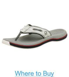d0d3c55c401 Sperry Top-Sider Mens Santa Cruz Thong Sandals