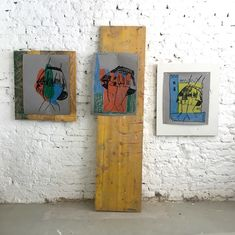 Installation view at my studio Fiction Movies, Science Fiction, Uk Tv Shows, Human Personality, Visual Aids, Ancient Aliens, Outsider Art, Art Club, Contemporary Artists