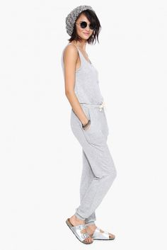 Luke Lounge Jumper in Heather grey   Necessary Clothing