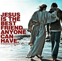 He never leaves us or forsakes us.
