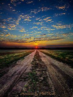 Horizon Road  by Phil~Koch, via Flickr