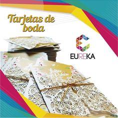 Diseños novedosos y únicos lo logramos con las tarjetas en corte láser. Eureka, ¡más diseño, más alegría! Tel. 325 5278 / 314 790 8139 Pereira