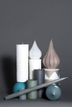 Broste Copenhagen candle collection. Styling by Nathalie Schwer Photograper Line Thit Klein