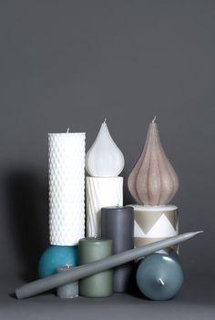 Broste Copenhagen candle collection. Styling by Nathalie Schwer Photograper Line Thit Klein