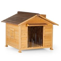 Merry Products Mansion Dog House - Dog Houses at Hayneedle Room Under Stairs, Dog Pads, Puppy House, Horses And Dogs, Animal House, Dog Houses, Large Dogs, Crafts To Do, Decoration