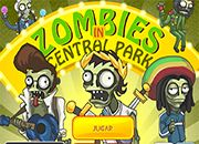Zombies In Central Park   Juegos Plants vs Zombies - jugar gratis