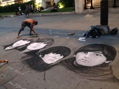 STREET ART - London UK - The Beatles ! Just Awesome Art Work on my Favorite Band The Beatles.