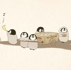 My Eyes, Penguins, Doodles, Snoopy, Kawaii, Creative, Illustration, Cute, Projects