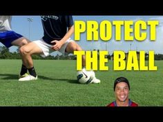 How to shield a soccer ball ► How to protect the ball in football or how to shield the ball in soccer effectively. Whethere you call it soccer or football th. Soccer Drills For Kids, Football Drills, Soccer Practice, Soccer Skills, Soccer Tips, Soccer Games, Youth Soccer, Soccer Coaching, Soccer Training