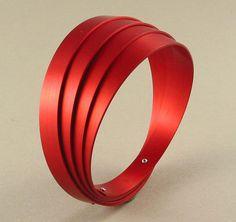 Gerti Machacek - bracelet - aluminium