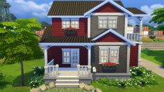 Sims 4 house small home