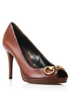 Gucci New Hollywood Pumps in T. Moro (wish I could afford these, love the horse bit!)