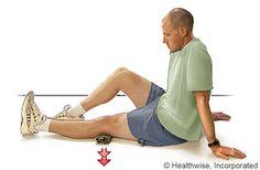 Prepatellar bursitis exercises