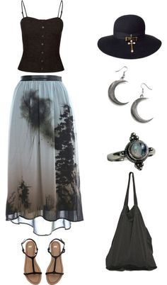Inspiration: Stevie Nicks My style: Classical and Bohemian (Fashion clothes from http://findanswerhere.com/womensfashion)