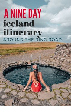 Iceland Itinerary Around the Ring Road- A Bloggers Guide. A full itinerary that goes over exactly what to see and when to see it around the Ring Road in Iceland. Theres also a full Google Map of each location and daily route! This is for a 9 day schedul