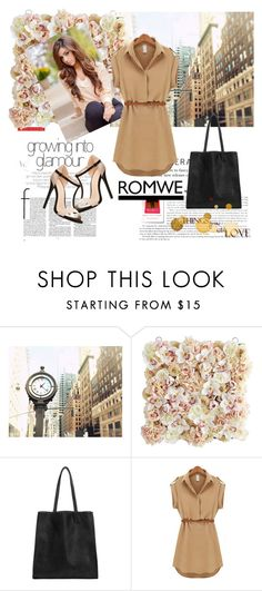 """""""Romwe 8"""" by aida-1999 ❤ liked on Polyvore featuring Pier 1 Imports, Charlotte Russe, women's clothing, women, female, woman, misses and juniors"""