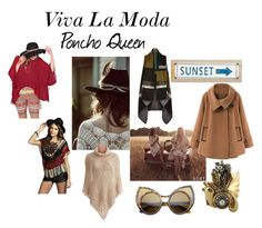 """Poncho Queen"" by xviva-la-modax on Polyvore"