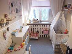 Uroczy pokój dla dziewczynki.
