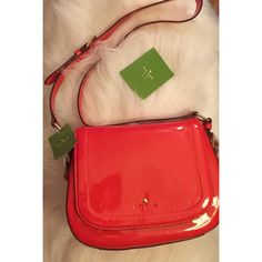 Kate Spade piper Carlisle street red bag Was going to give this as gift but she didn't like the size so selling. Retail price $328. New with tags. Sold out on Amazon and Norstrom. Can be a used as a cross bag or a handbag. Make offers. If you have any questions don't hesitate to ask. kate spade Bags Crossbody Bags