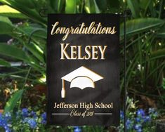 Graduation Flag Custom Name School Graduation Party Flag Graduation Banner Graduation Party High School College Graduation