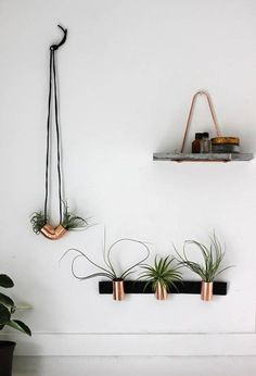 planters from easy available copper couplings, 17 Easy Copper Projects For Every Room Of Your House