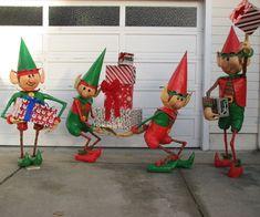 Santa's Elves Yard Display