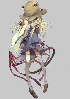 Suwako Moriya - Touhou 10 - gud art - fave characters
