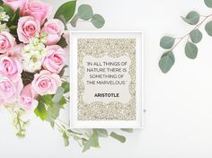 Digital Download Printable Art, Quote Print, Inspirational Quote Poster, Positive Typography, Printable Wall Art, Digital Print