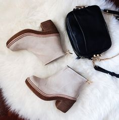 Flat-lay Love || Our B Coops Bobby ankle boots via #TheFashannMonster beaucoops.com #bcoops