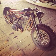 Bobber Inspiration | BMW bobber | Bobbers and Custom Motorcycles