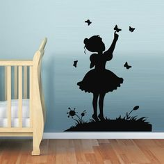 Wall Decal Decor Decals Girl Butterfly Nursery Gift Tour Flower Glade (M614) DecorWallDecals http://www.amazon.com/dp/B00G330XCI/ref=cm_sw_r_pi_dp_9Gj2ub1VMDC0W