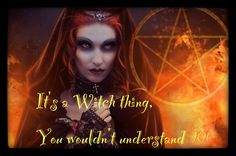 From The Crystal Pyramid Facebook it's A witch thing