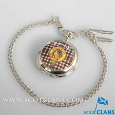 Borthwick Clan Crest Pocket Watch