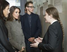 Queens & Princesses - Princess Marie attended the launch of a new project of the Danish association of autism which was held in Bagsvaerd. This new project aims to highlight the difficulties faced by people with autism to find work and integrate into professional life.