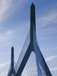 Crossed this many times!!  Zakim Bridge, Boston, Massachusetts, USA