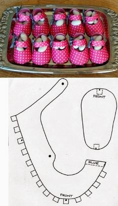 DIY : Candy Baby Shoes Box