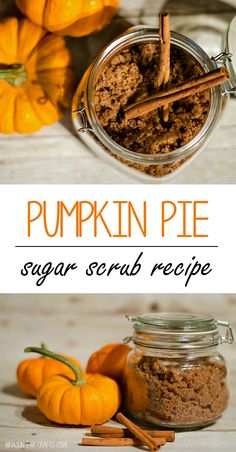 Sugar Scrub Recipe: Pumpkin Pie Spice; Maybe add some essential oils, like the Protective Blend, or Clove and Ginger