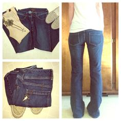 The limited boot cut denim jeans size 6 Great condition, worn twice, no rips or stains, treat fit. Measurements true to size. Feel free to make me an offer The Limited Jeans Boot Cut