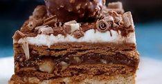 Zobacz sprawdzony przepis z bloga zjemto.blox.pl! Cookery Books, Sweet Recipes, Tiramisu, Nutella, Recipies, Tart, Food And Drink, Cooking Recipes, Sweets