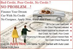 Many People Like College Students And Freshly Graduates Face Rejection For Getting First Time Buyer Car Financing. Here Are Few Steps To Be Followed By Applicant Who Are Seeking For Auto Loans Without Credit History Within Budget