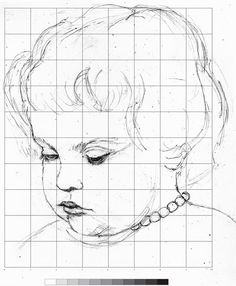 portrait drawing for the ultimate beginner the grid method art tips technique fundamentals. Black Bedroom Furniture Sets. Home Design Ideas
