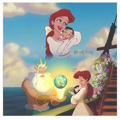 The little mermaid 2 Disney Pixar, Disney Now, Disney Fan Art, Disney Animation, Disney Cartoons, Disney Princesses And Princes, Disney Princess Ariel, Mermaid Disney, Melody Little Mermaid