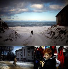 """NPR reporter David Greene along with producer Laura Krantz and photographer David Gilkey boarded the Trans-Siberian Railway in Moscow and took two weeks to make their way to the Pacific Ocean port city of Vladivostok. From the story """"Russia by Rail: A View From Russia's Trans-Siberian Railroad"""", 2012."""